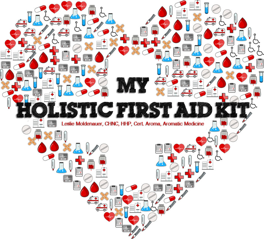 "My Holistic ""First Aid"" Kit-Essential Oils Herbs & Homeopathy"