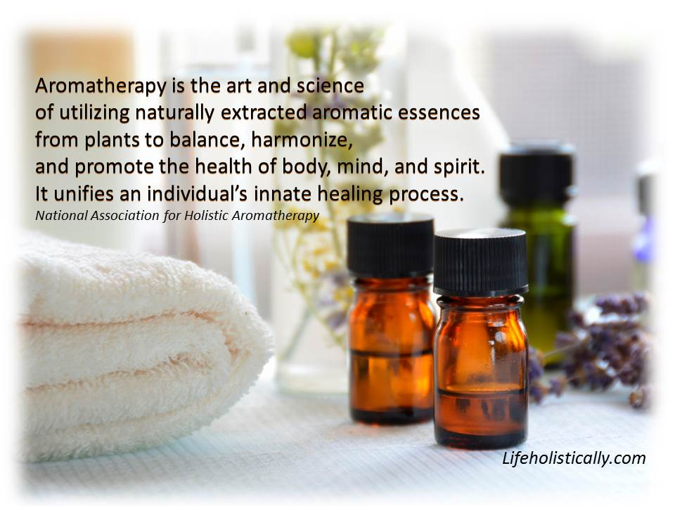 Definition of Aromatherapy LH