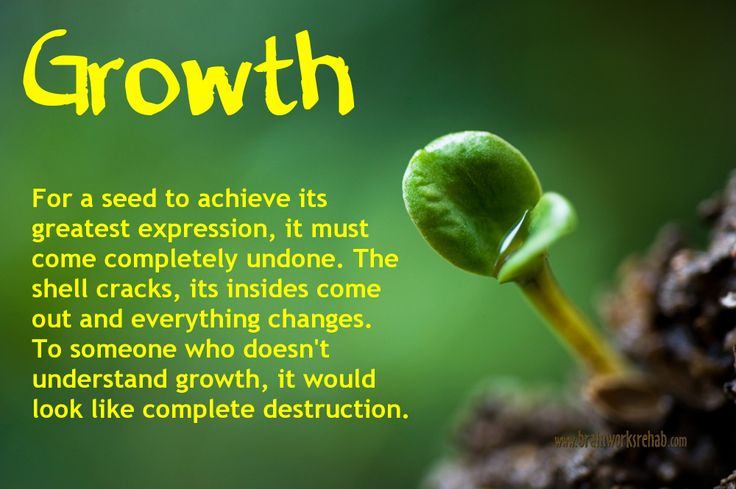 Growth is not Optional