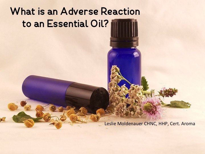 Essential Oil Adverse Reaction