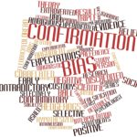 Abstract word cloud for Confirmation bias with related tags and terms