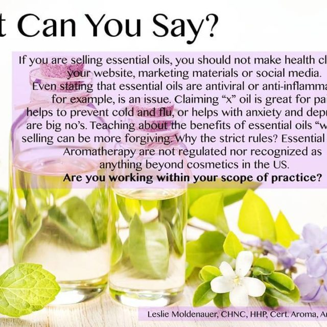 If you are a practicing Aromatherapistyou must cultivate proper languagehellip