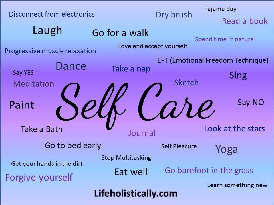What does self-care look like for you?